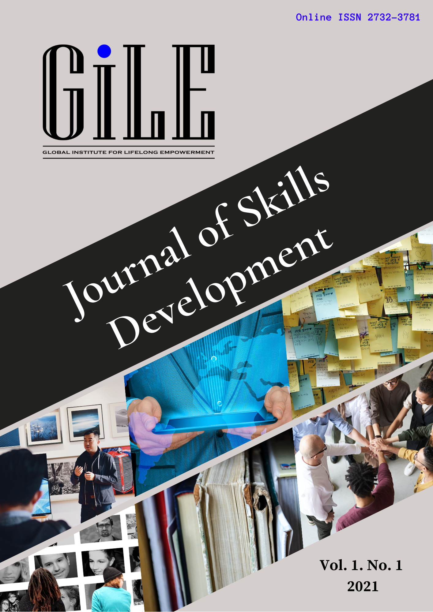 Cover of the GiLE Journal of Skills Development international journal on competency development